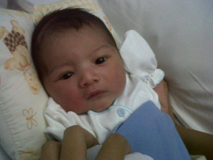 My baby Ihsan