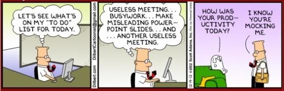 Dilbert on productivity