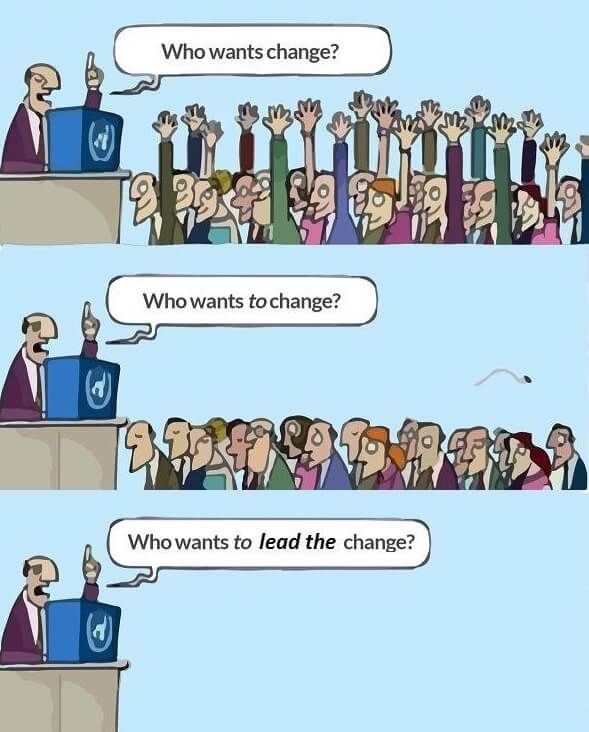 leading change management
