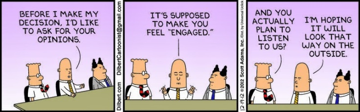 Dilbert Engagement